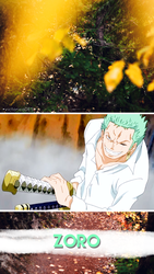 Zoro (wallpaper) #1 by victoricaDES