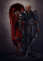 DA:O Heroes of the Fifth Blight: Sten by Darantha