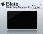 iSlate Photoshop Template by stntoulouse