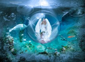 Angels Under The Sea by Angelmihrlhen