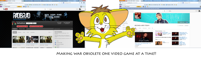 Making war obsolete one video game at a time by Rangertamer