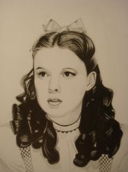 Judy Garland (Dorothy Gale ) by ARTIEFISHEL79