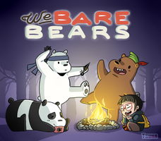 We bare Bears by x-Tsuka-x