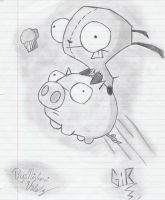 Gir's great chase by niz4evr