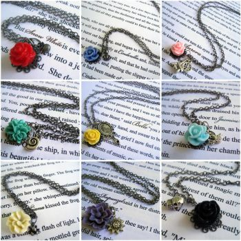 Princess Necklaces by instantpudding