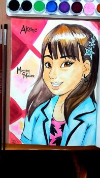 Akane Haga from Morning Musume 16 by Helsic
