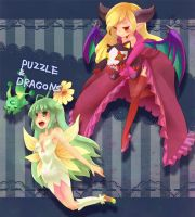 puzzle and dragons by MizoreAme