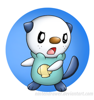 Oshawott by Nintendrawer