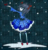 - Homestuck: blue hearted troll - by capochi