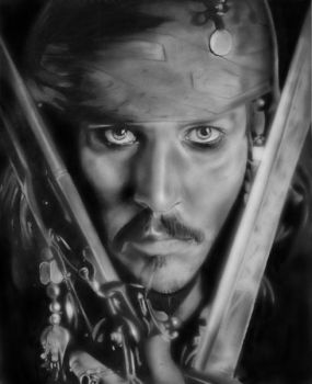 JACK SPARROW by salemallangawiart