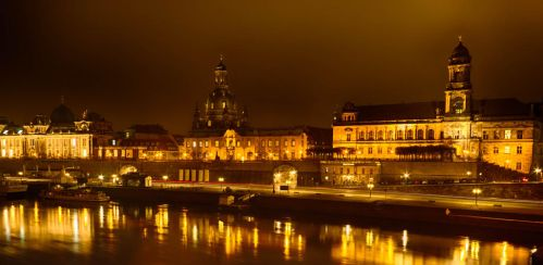 Dresden at Night by sheiruki