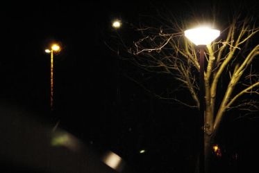 Streetlights in winter by Boo-B89