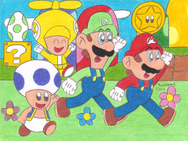 New Super Mario Bros Wii by MarioSimpson1