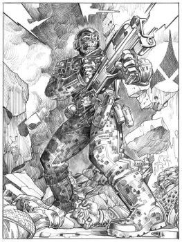 MACO Msgt McGuire Commission by Jebriodo