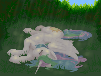 Dozing in the Sunbeams by Geomancing