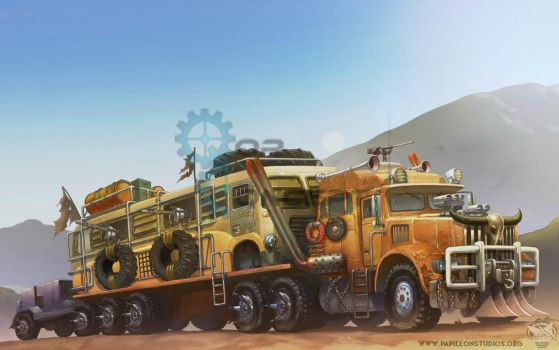 Roll Out-Truck by papillonstudio