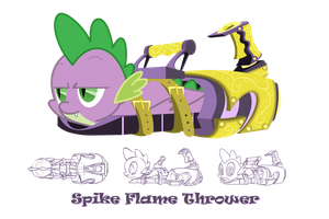 Spike Flame Thrower by FlamingoRich
