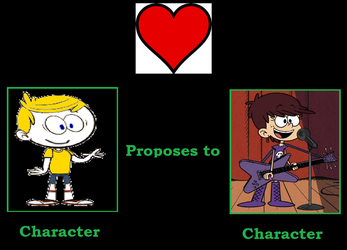 BEC Proposes to Luna by TheLoudHouse1998