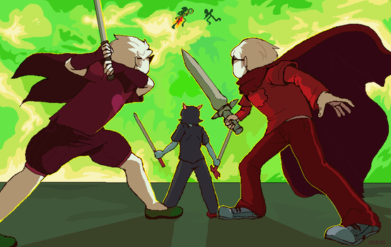 Battle Against Jacks by ChibiSo