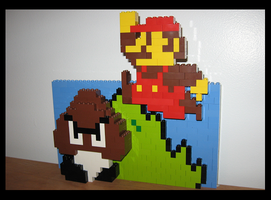 Lego Super Mario - World 1-1 by Spawn-of-Jack