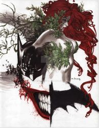 Batman poison ivy joker GOTHAM series SMALLG by ebas
