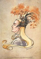 Thranduil's bonsai by MeredithDillman