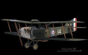 Armstrong Whitworth FK8 Late  3D model by rOEN911