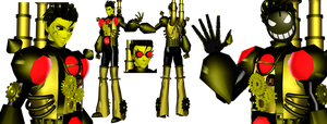 [MMD] Mecha Sammy Lawrence Gijinka (BATIM) by DrStinger