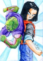 Piccolo and C17 by HomolaGabor