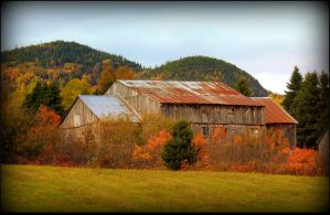 Ancient Barn by JocelyneR