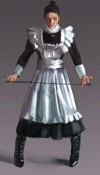 Maid by Fieldweeble