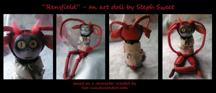 Art Doll Rensfield for Two-Cue by Myrcury-Art