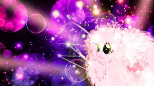 Fluffle Puff - Wallpaper by youki506