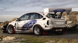 Ford Focus Hill Climb by Rugy2000