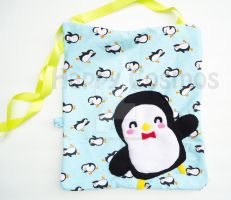 Penguin Print Bag by CosmiCosmos