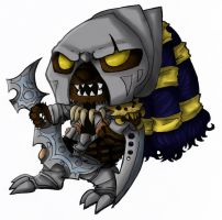 HeadHunter Rengar by Vanilla-Brownie
