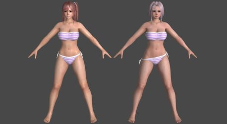 DoAX3 - Sage - Pack #1 for XPS! by DoraiBoonzu