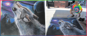South Jordan Chalk Art Festival by sugarpoultry