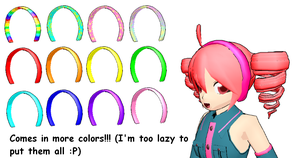 MMD- Headbands DL by Shioku-990
