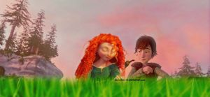 Hiccup/Merida by angeelous-dc