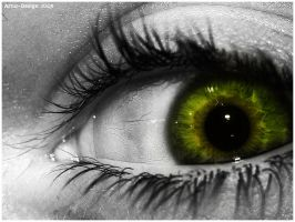 Green Eye by A-DD