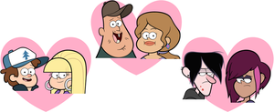OTP's of Gravity Falls by greatlucario