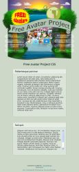Free Avatar Project CSS by parallellogic