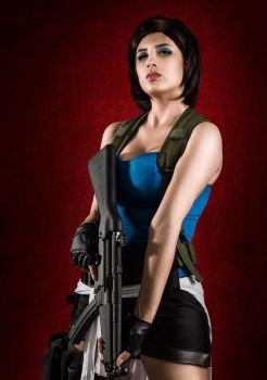 Jill Valentine Cosplay - Resident Evil 3 by umicosplays