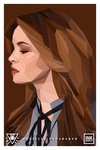 Danielle Panabaker by inkmantle