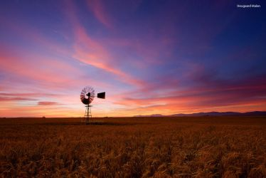 Riversdale Wind Pump by hougaard