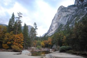 Mirror Lake Dried Up, Yosemite Valley by Colonel-Knight-Rider