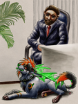 at Stathis's Office by ArnaTornwolf