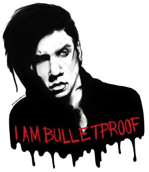 Bulletproof T-shirt design? by Kann-you-see-me