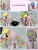 Crystal Chatalot Plush for Kenners301 by Cryptic-Enigma